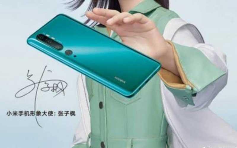 Xiaomi Mi Note 10 dengan Kamera 108 MP
