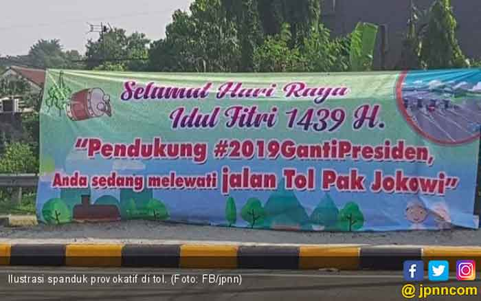 Kata Sekjen PDIP soal Viral Spanduk Jalan Tol Jokowi