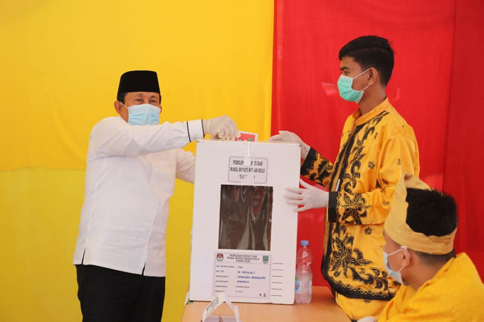 Pleno PPK Tuntas, Sukiman-Indra Gunawan Unggul Sementara di Rohul