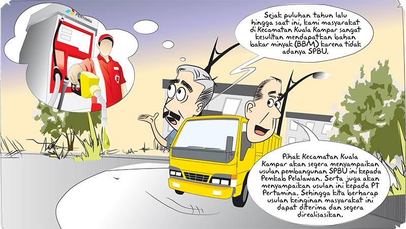 Warga Kuala Kampar Dambakan SPBU