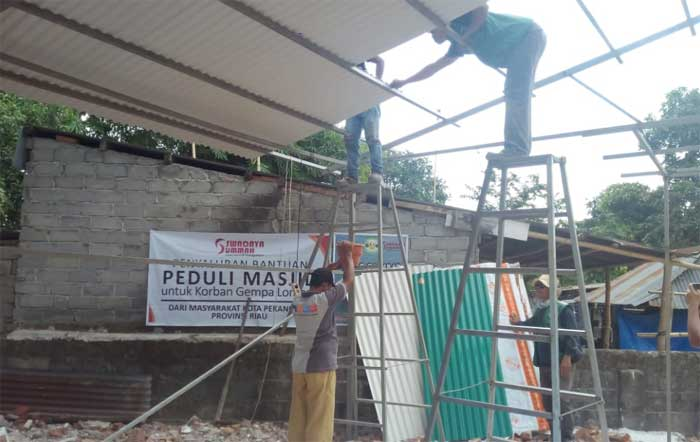 Swadaya Ummah Terjunkan Relawan Bantu Lombok