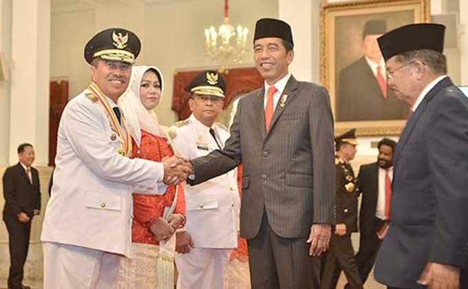 Baru Dilantik, Syamsuar Berharap Jokowi Dua Periode