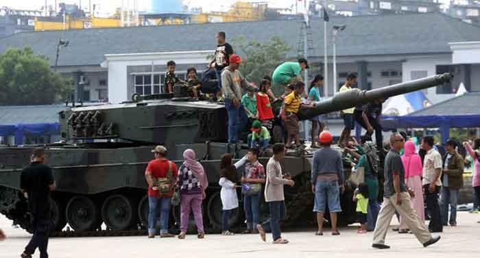 Top! Ketika Tank Terkuat di Dunia Ternyata Ada di Indonesia