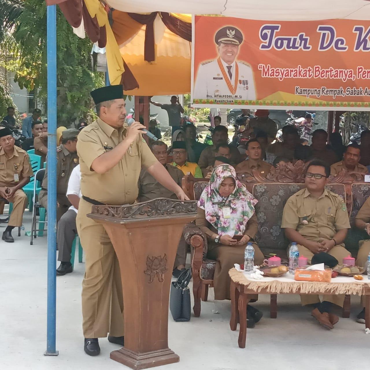 Tour de Kampung Monitoring Pembangunan