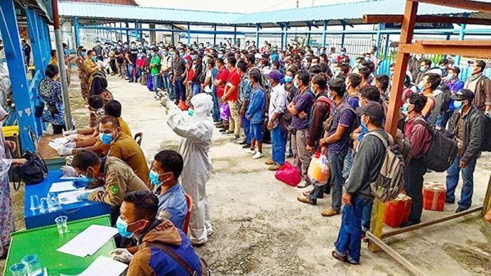 Pemulangan Warga Riau di Malaysia Dilakukan Bertahap