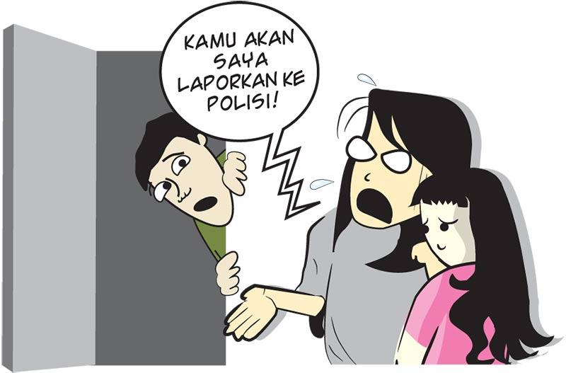 Anak Kepergok Tidak Berbusana di Rumah Pria