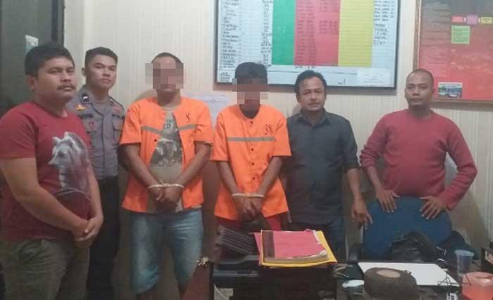Polres Rohil Ungkap Kawanan Pelaku Pencurian Minyak CPI