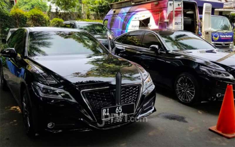 Para Pejabat Negara Sudah Pakai Mobil Dinas Baru, Nih Tampilannya