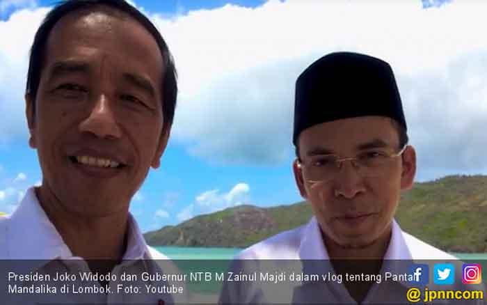 Didukung TGB, Jokowi Diyakini Akan Menang di NTB