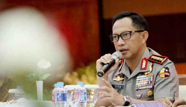 Kapolri: Kekuatan TNI-Polri Banyak Menentukan Nasib Indonesia