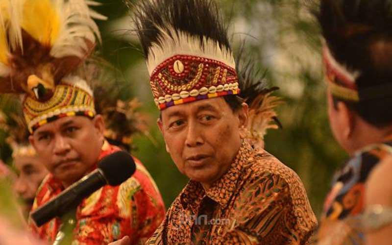 Wiranto Bantah Omongan Gubernur Papua Lukas Enembe