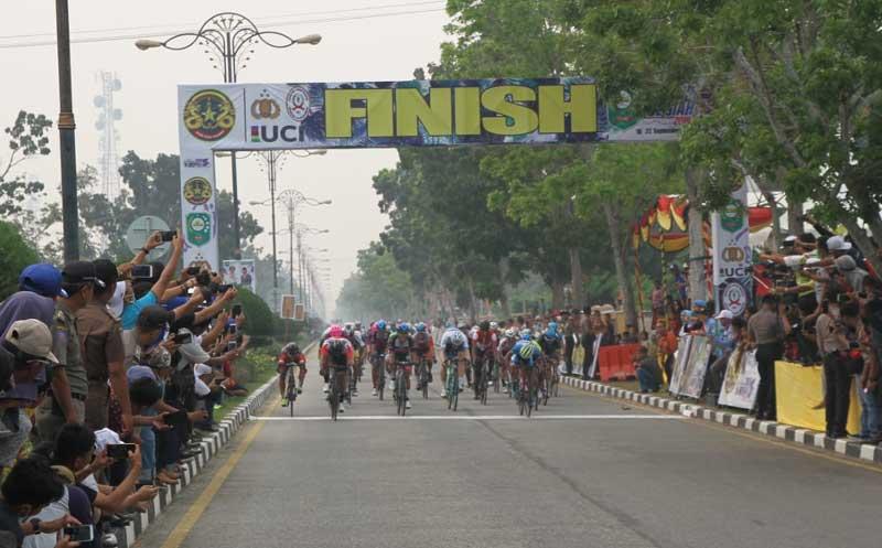 Pembalap Indonesia Juara Etape II
