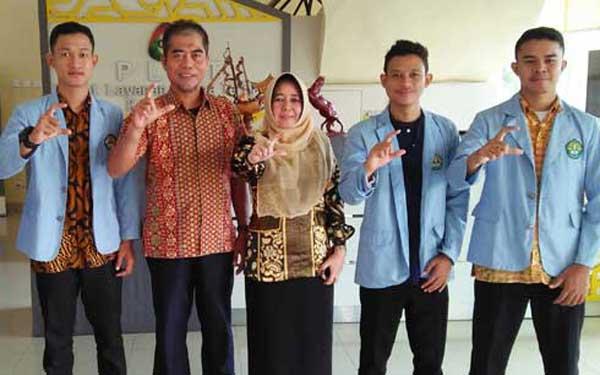Tim PKM FEB UNRI Penelitian di PLUT Riau