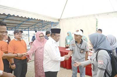 Wagubri Terisak Cerita Embarkasi Haji Antara