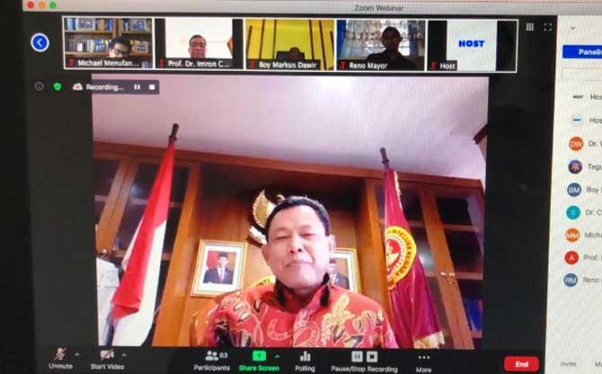 Webinar soal Pembangunan Berbagai Sektor untuk Masa Depan Papua