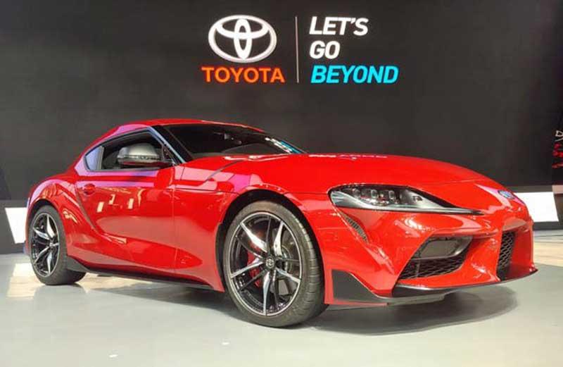 Toyota Supra Mengaspal di Indonesia