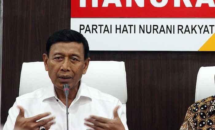 Elite Hanura Tuding Wiranto Intervensi KPU Jelang Pemilu 2019