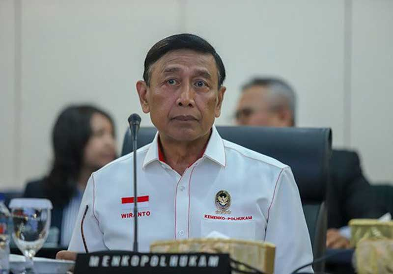 Wiranto: 48 Orang Sudah Jadi TSK