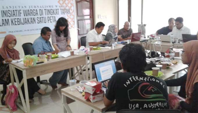 Peserta Antusias Ikuti Pelatihan Jurnalis Warga di Tingkat Tapak