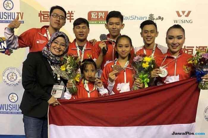 Membanggakan! Atlet Wushu Berhasil Sabet Emas seperti Zohri