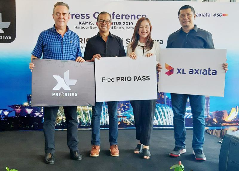Gratis XL PRIO Pass Selama di Malaysia dan Singapura