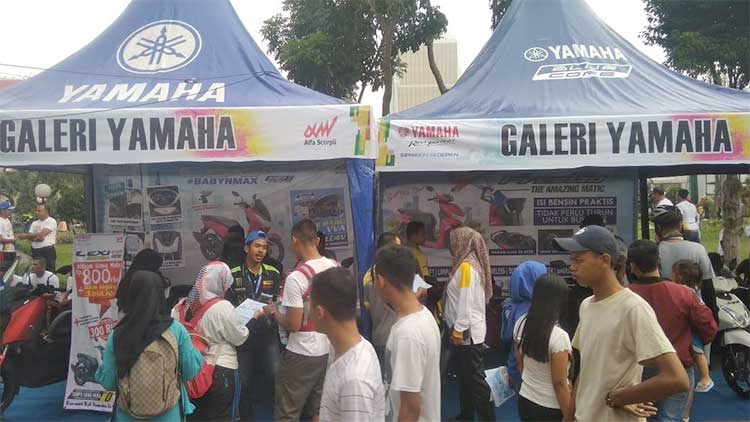 Yamaha Ambil Bagian Millenial Road Safety Festival