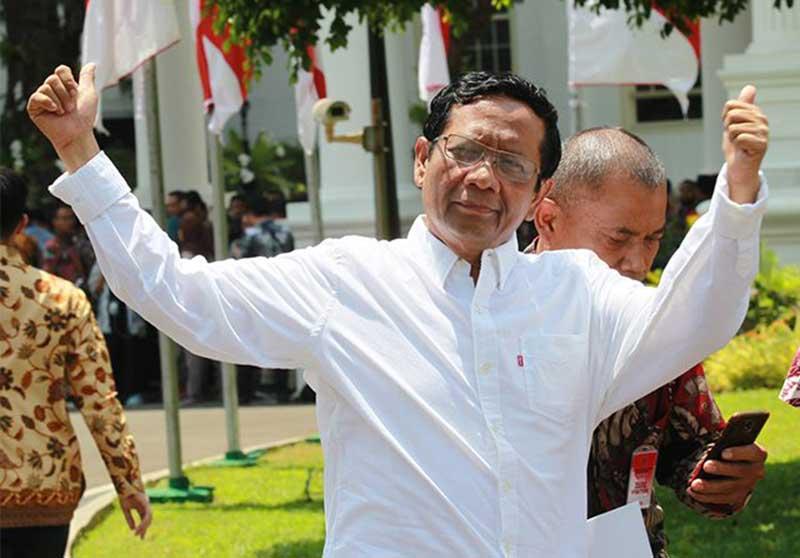 YLBHI Tantang Mahfud MD Desak Jokowi Terbitkan Perppu KPK