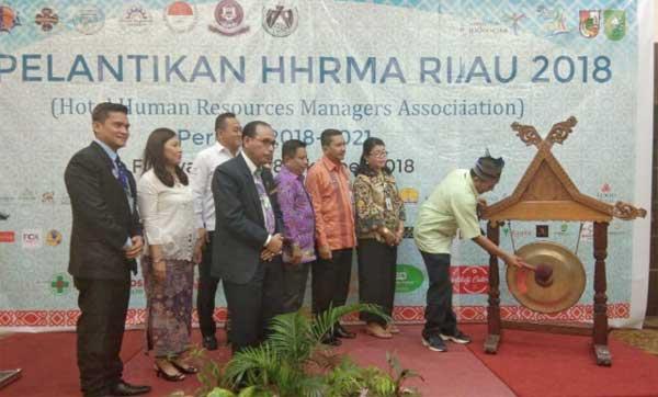 Ketua HHRMA Riau Periode 2018-2021 Dilantik