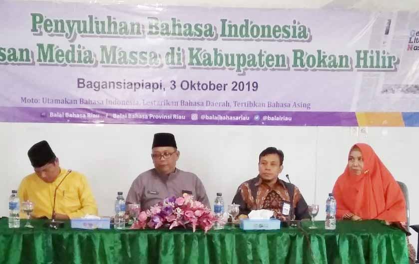 Media Massa Sangat Berperan dalam Kampanye Bahasa Indonesia